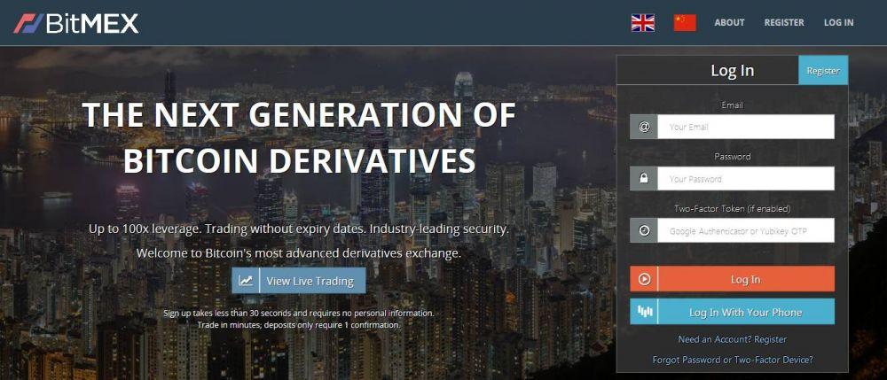 Bitmex com – great Option for real Traders - Bitcoin Binary